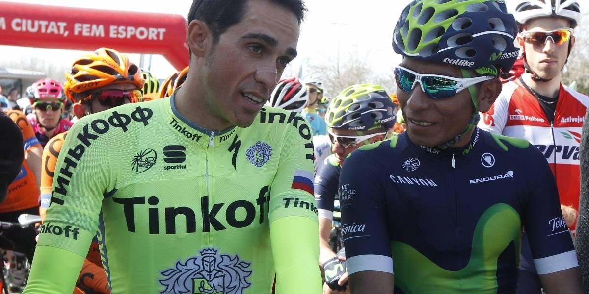 """Contador: """"El máximo candidato para el Tour es Nairo Quintana"""""""