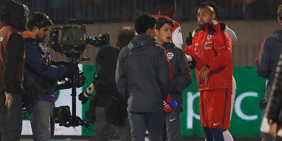 """El paso a paso del """"rockstar"""" Arturo Vidal ante Burkina Faso"""