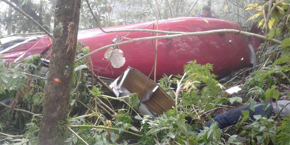 Encuentran avioneta desaparecida en el volcán de Agua