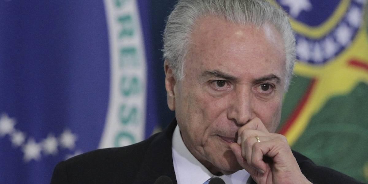 Detienen en Brasil a colaborador cercano de Michel Temer por caso de corrupción
