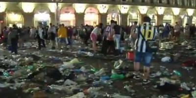 Falsa alarma terrorista generó estampida en Turín, Italia