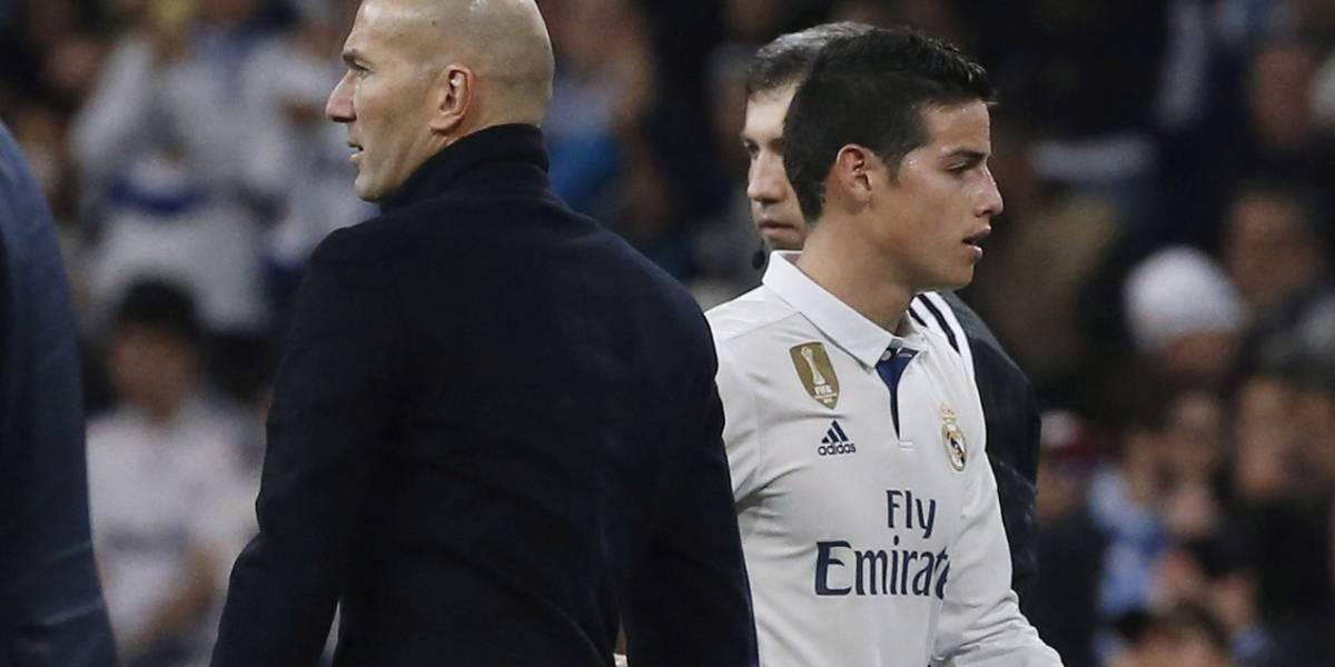 """""""Zidane siempre fue alguien que yo admiré"""", James cuando llegó a Real Madrid ¿Seguirá pensando igual?"""