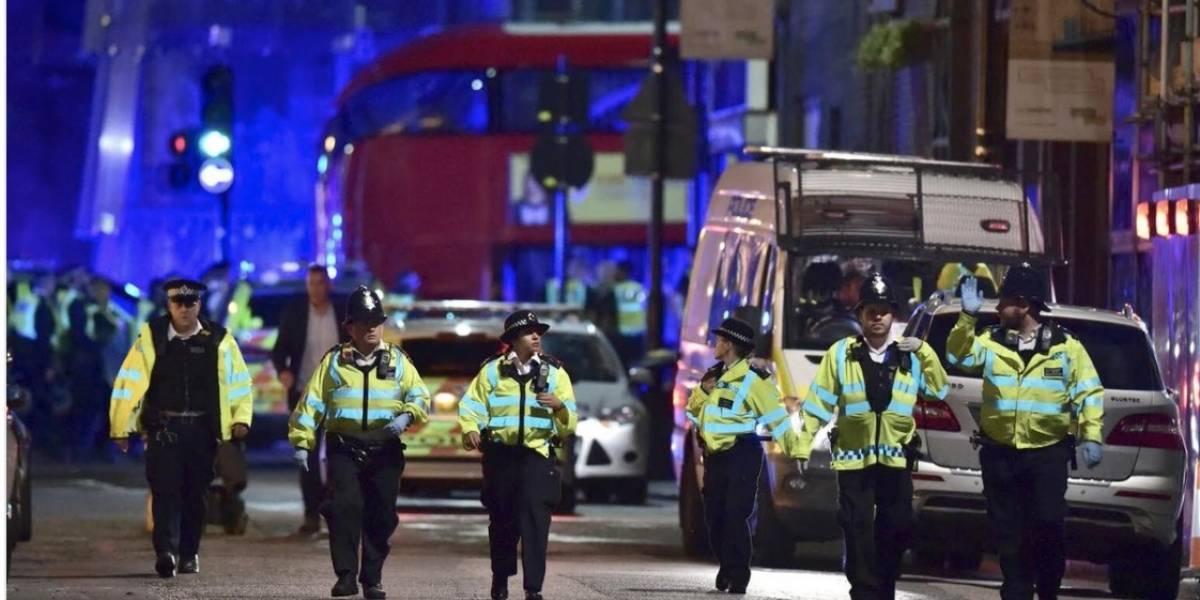 Tres ataques simultáneos en Londres dejan un muerto y varios heridos