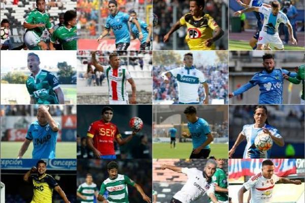 Leonardo Valencia, Rafael Caroca y Roberto Gutiérrez destacan entre los jugadores libres / AFP