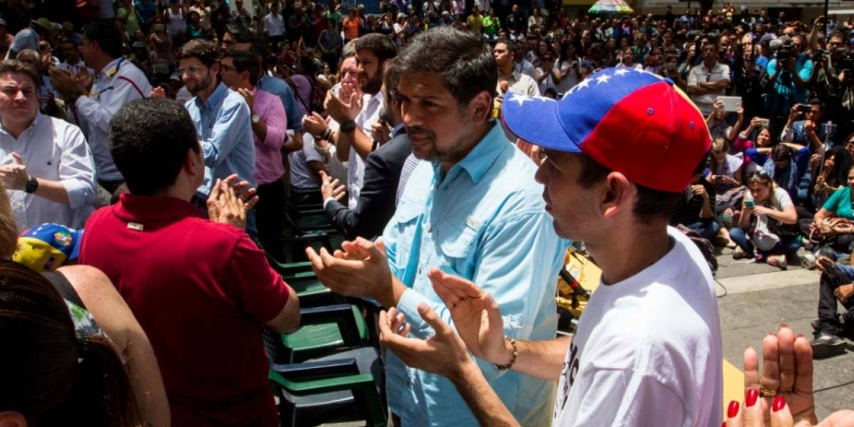 Oposición venezolana convoca a 'Marcha contra el hambre'