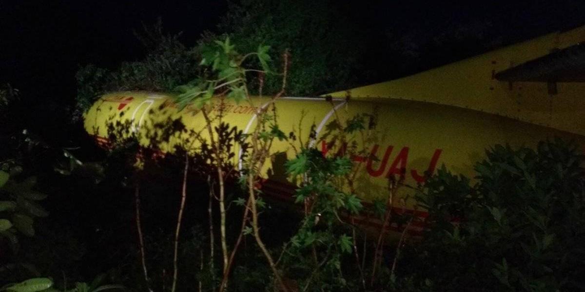 Se estrella avioneta en Aeropuerto Internacional de Tampico, al menos 2 heridos