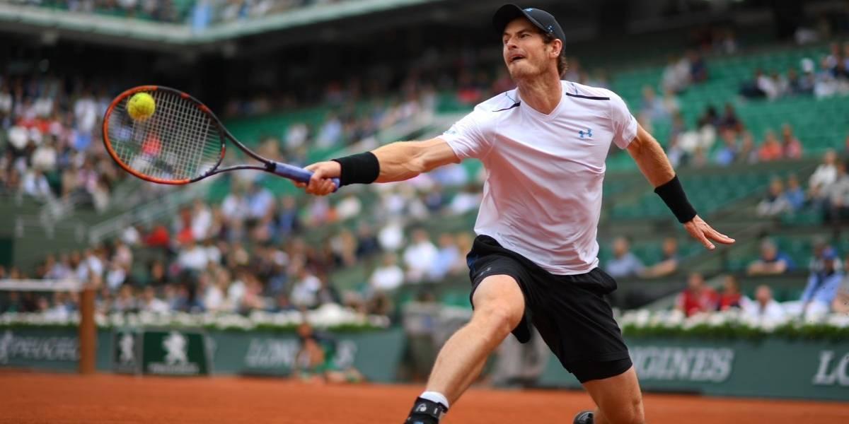 Murray vence a del Potro en Roland Garros