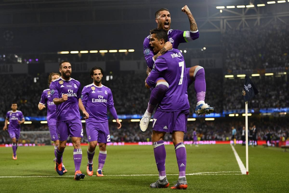 GETTY IMAGES Cristiano Ronaldo anota el gol 500 del Madrid en la Champions