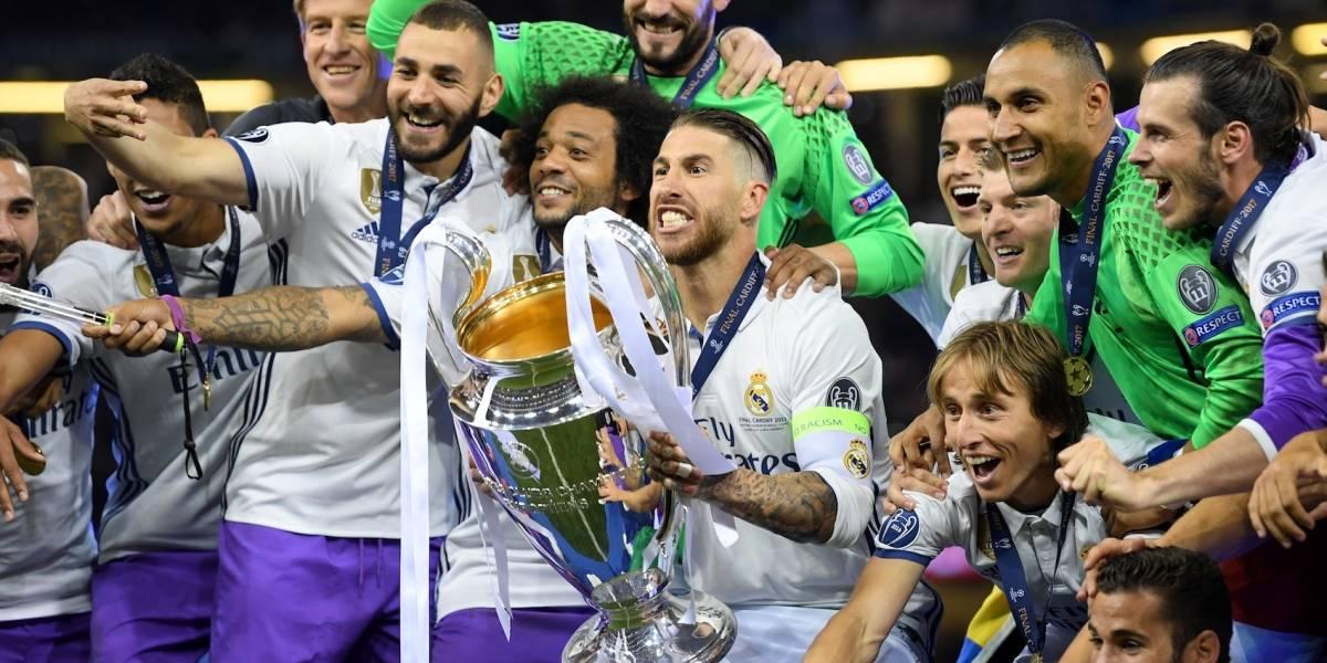 FOTOS:  Así fue el ambiente en la Final de la Champions League