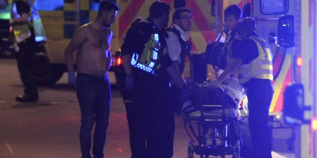 Atentado en Londres: Servicio de ambulancias dice que al menos hay 20 personas hospitalizadas tras los ataques