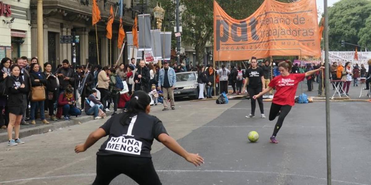 Fotos: Así se vivió una nueva jornada de manifestaciones de Ni Una Menos en Argentina