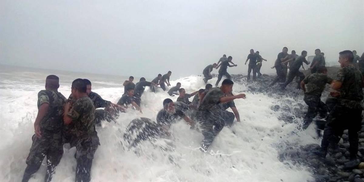 Caso Antuco peruano: mueren ahogados jóvenes militares durante entrenamiento en playa de Lima