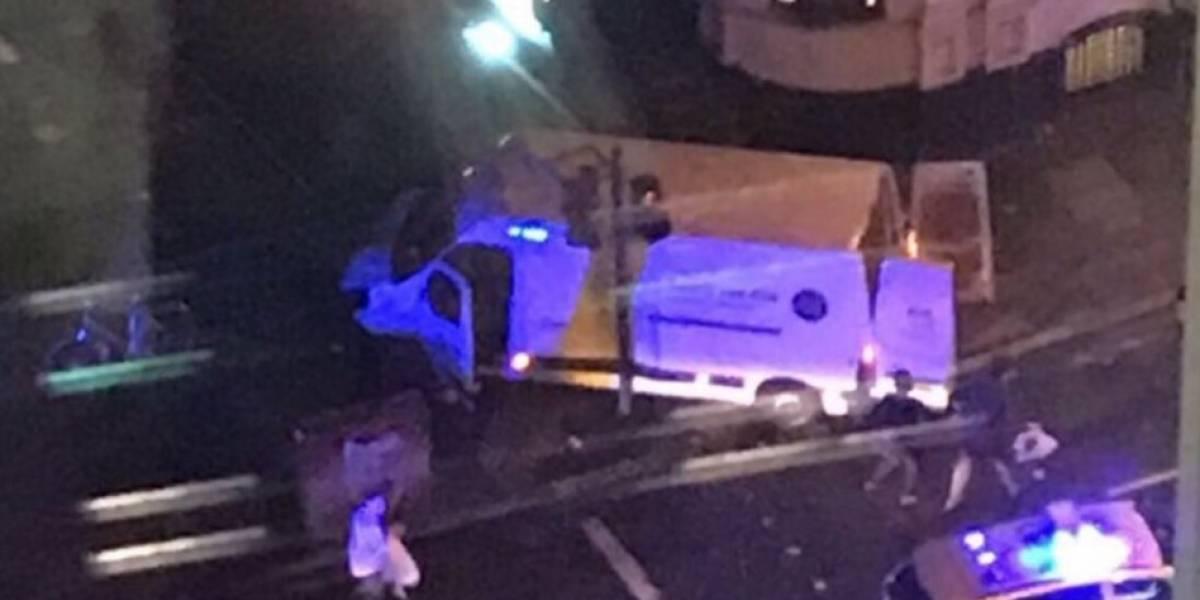 Se reporta presunto ataque terrorista en Londres