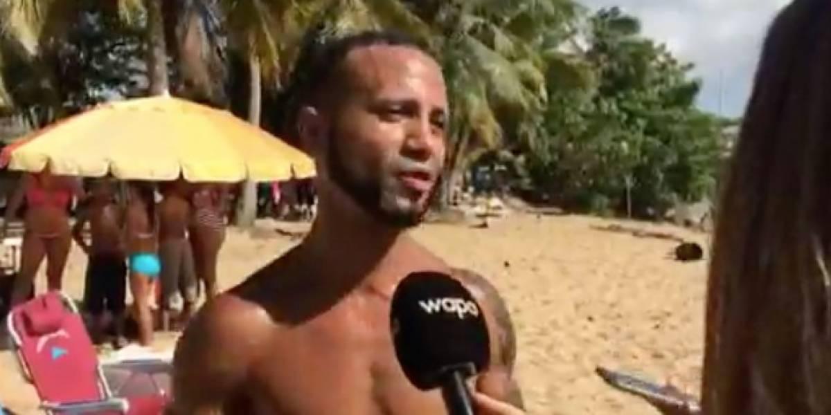 Joven se lanza al mar para rescatar a víctimas de avioneta accidentada