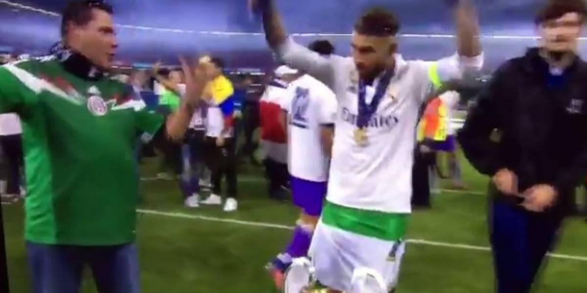 VIDEO: Sergio Ramos se niega a tomarse una selfie con un mexicano