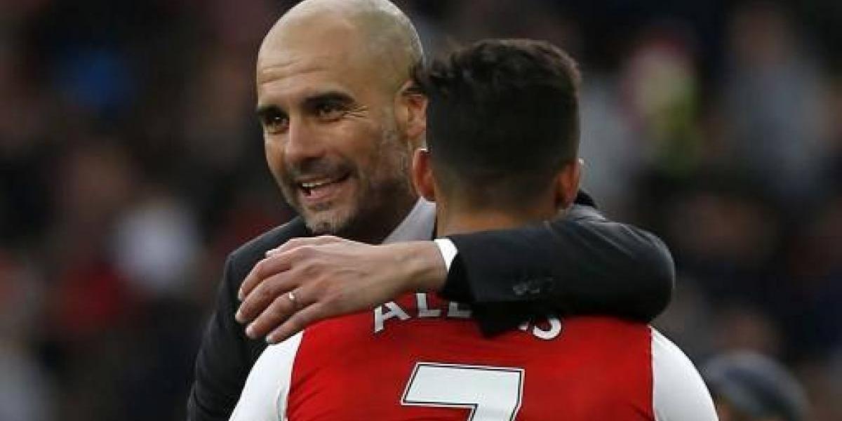Pep Guardiola se pone firme y exige la contratación de Alexis Sánchez para el City