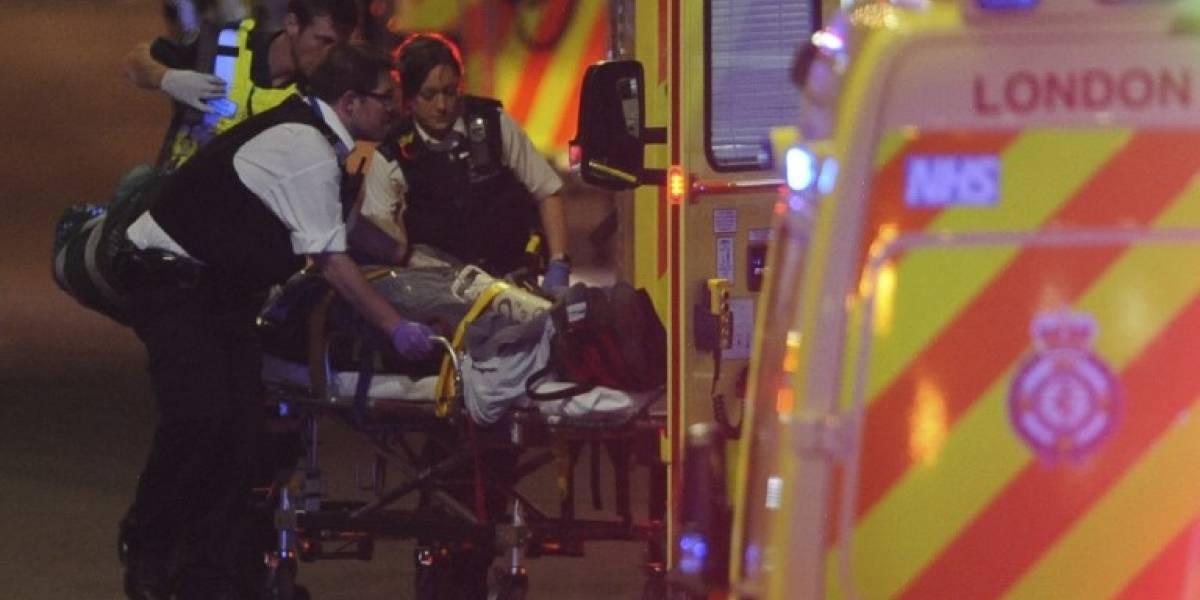"""Doce detenidos y siete muertos deja atentado en Londres: culpan a """"malvada ideología del extremismo islamista"""""""
