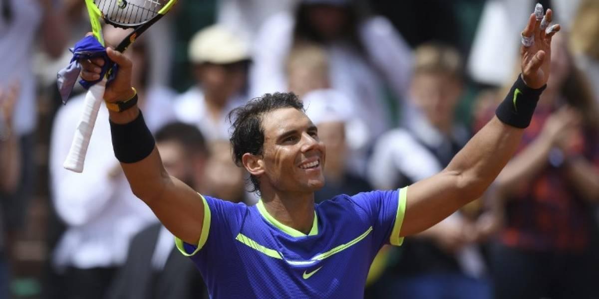 ¿Quién para a Nadal? Se metió en cuartos de Roland Garros con facilidad e igualó récord