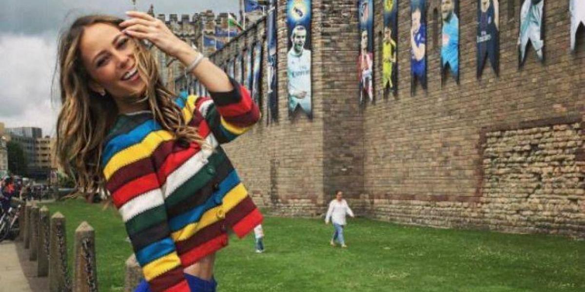 VIDEO: Vanessa Huppenkothen es acosada por un aficionado en Cardiff