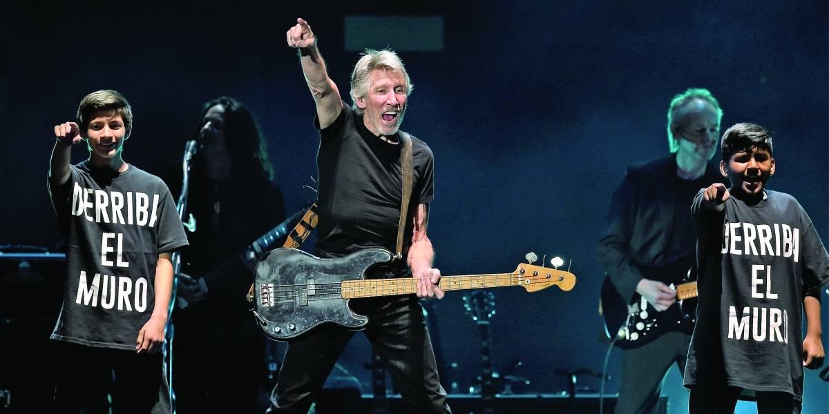 Roger Waters: fonte do Ibirapuera exibe trechos de shows do cantor nos fins de semana