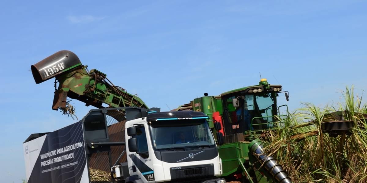 El futuro ya está acá: Volvo presenta su camión autónomo para la agricultura