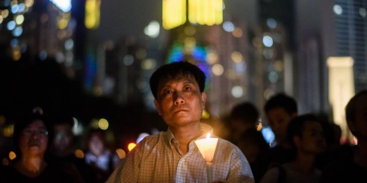 EN IMÁGENES. Recuerdan el 28 aniversario de la matanza de Tiananmen
