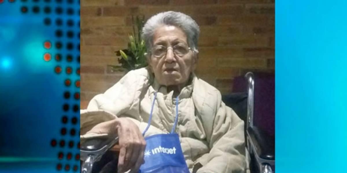 Abuela de 77 años y con problemas de salud fue abandonada en el aeropuerto