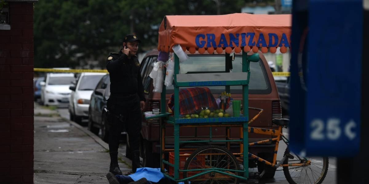 Vendedor de granizadas es asesinado por una extorsión