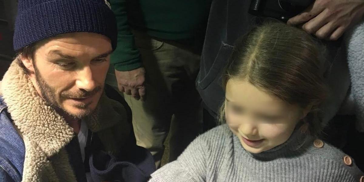 La polémica foto por la que acusan a David Beckham de 'pedófilo'
