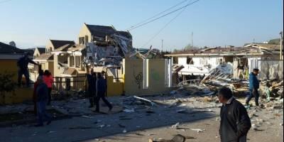 Tras un escape de gas una explosión destruyó 8 casas en Chile