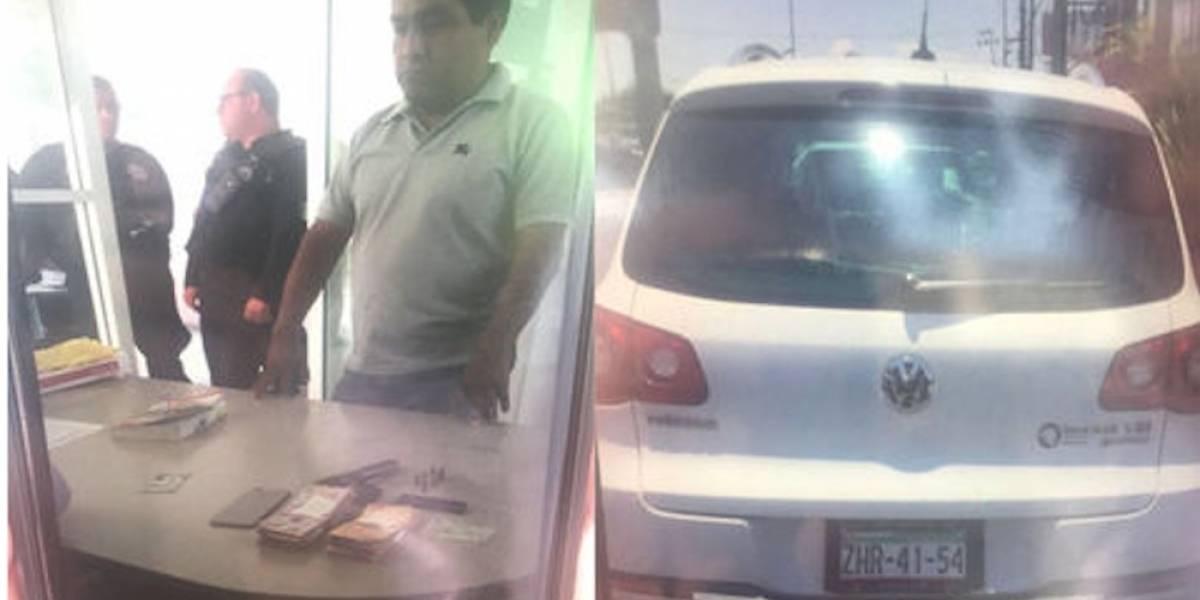 """Ricardo Monreal califica como """"vil montaje"""" detención de su chofer"""