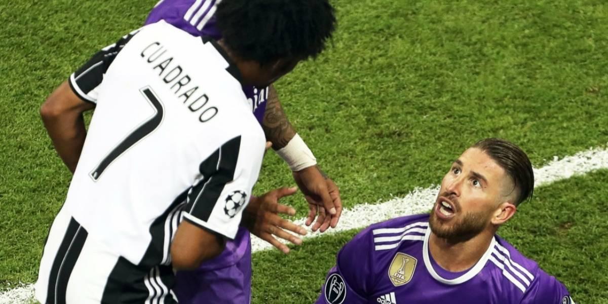 Ferdinand mandó un fuerte mensaje a Ramos por la jugada de la expulsión de Cuadrado