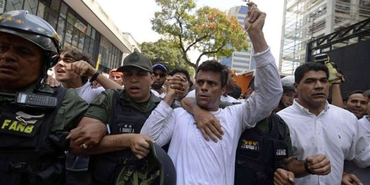 Ex presidente Zapatero visita a opositor venezolano Leopoldo López
