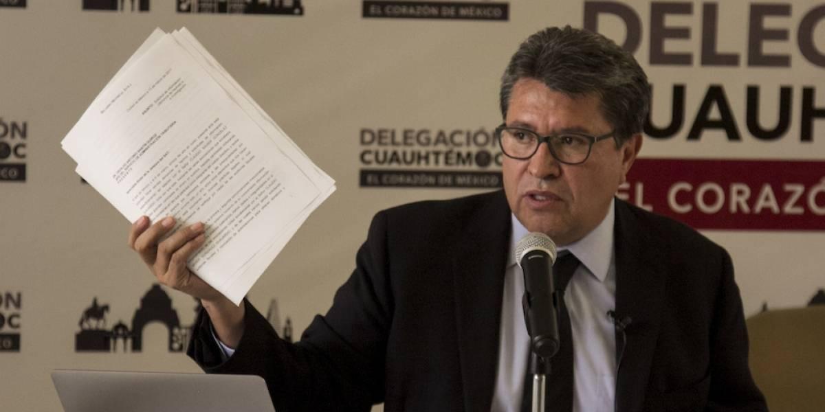 PRI pide a Fepade investigar actuación de Monreal en Ecatepec
