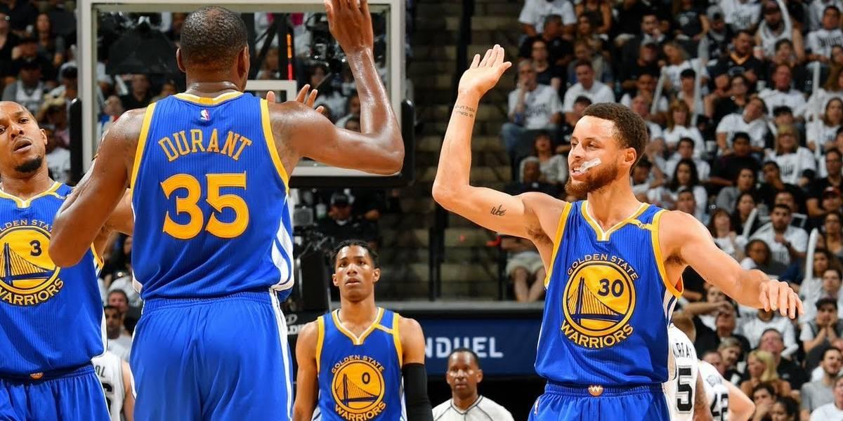Curry y Durant quieren subir el nivel en segundo juego de la final NBA