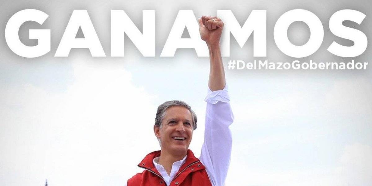 PRI Nacional borra tuit donde gana Alfredo del Mazo en el Edomex