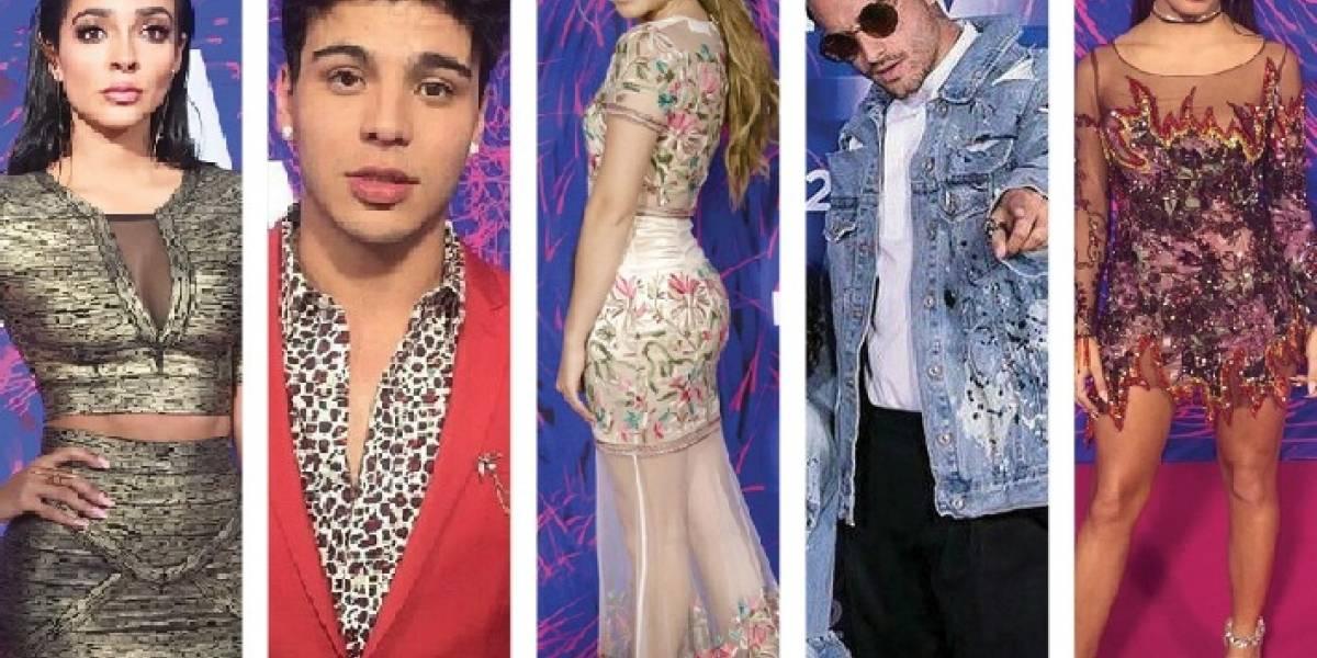 Ganadores de los premios MTV Miaw 2017