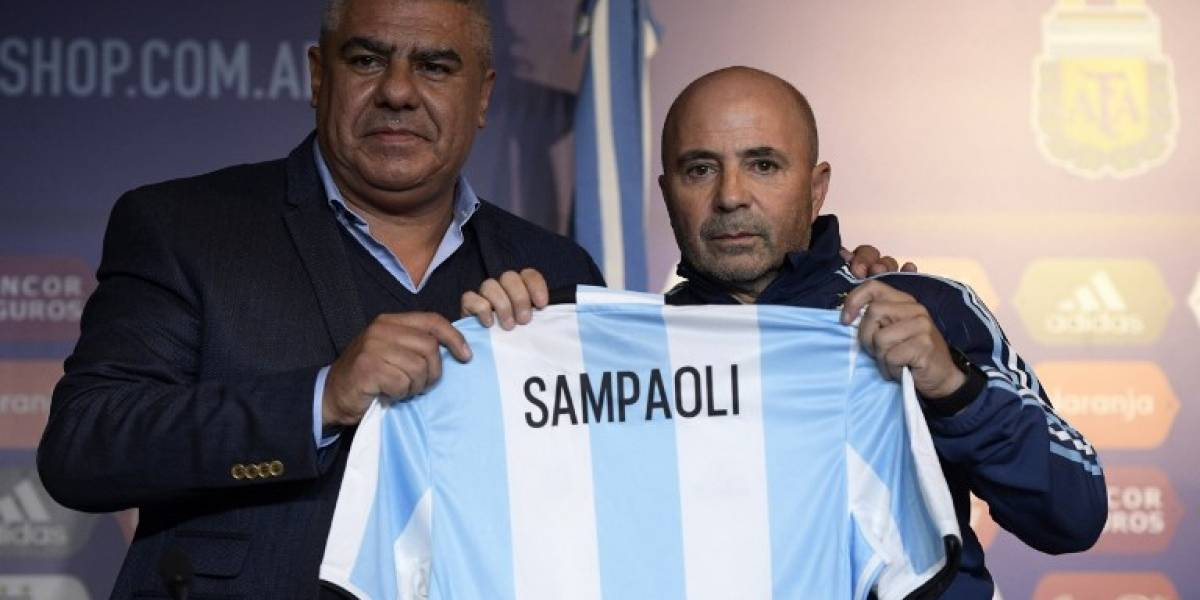 Sampaoli dirige primer entrenamiento de Argentina en Melbourne