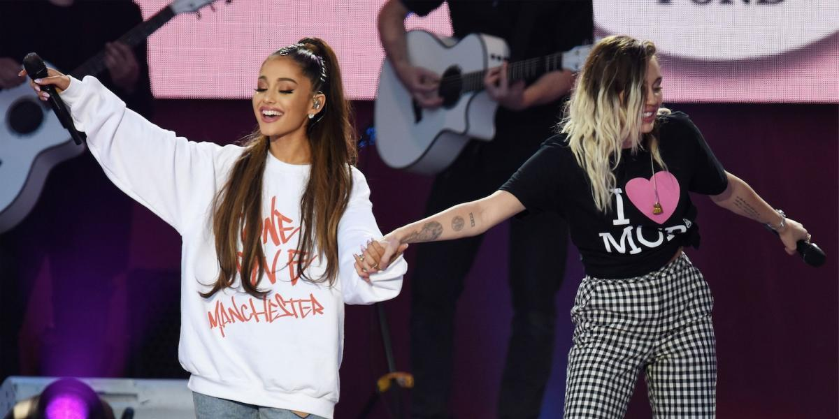 Los mejores momentos del concierto de Ariana Grande y sus amigos en Mánchester