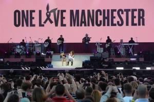 """Concierto """"One love Manchester"""", de Ariana Grande y sus amigos."""