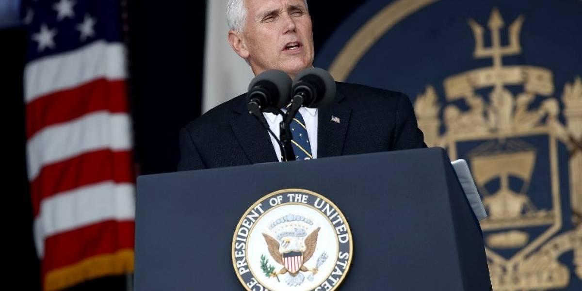 """Vicepresidente de Estados Unidos está """"ansioso"""" de confirmar apoyo para el triángulo norte"""