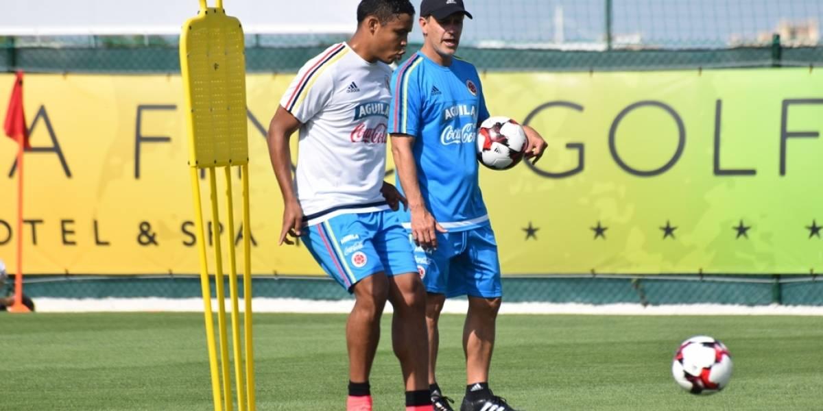 Muriel destaca el buen nivel y la variedad de delanteros en la selección Colombia