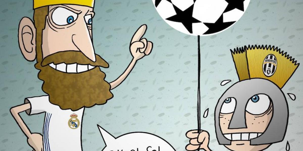 Real Madrid, campeón de la Champions League; el cartón del día