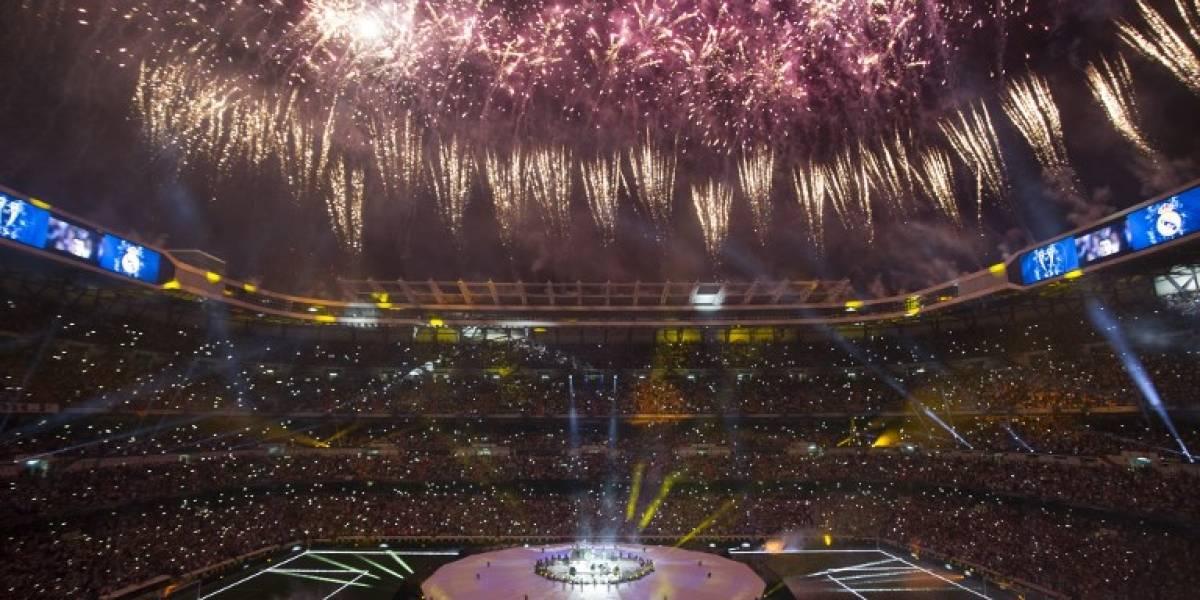EN IMÁGENES. El madridismo festeja en el Santiago Bernabéu, eufóricos con Cristiano