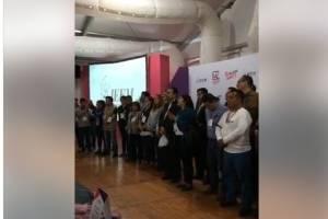 Periodistas protestan en el IEEM por asesinatos de colegas