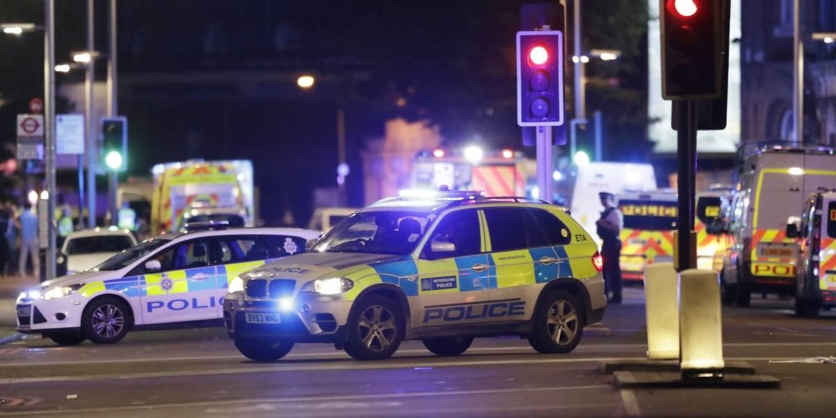 Arrestan a 12 personas en conexión con el ataque terrorista en Londres