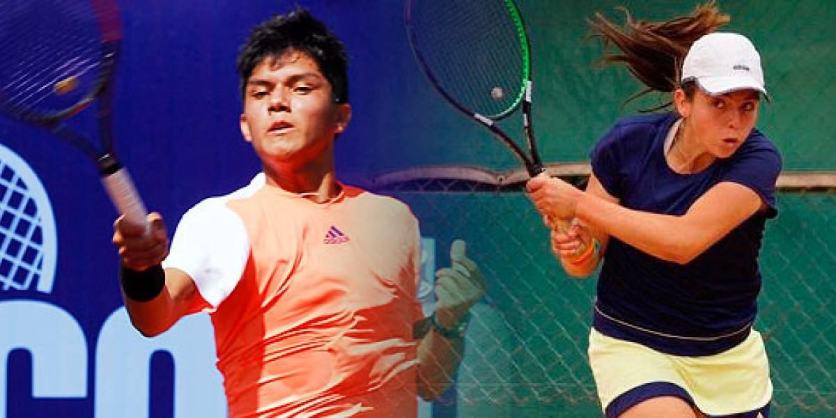 Mala jornada para los juniors chilenos que cerraron su participación en Roland Garros
