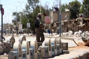 Soldados en Siria