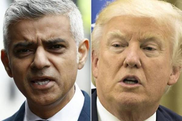 Trump y Khan