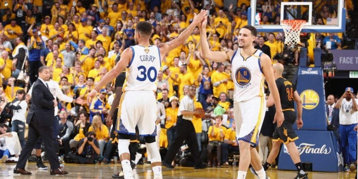 Los Warriors vuelven a vencer a los Cavaliers y se imponen 2-0 en la final de la NBA